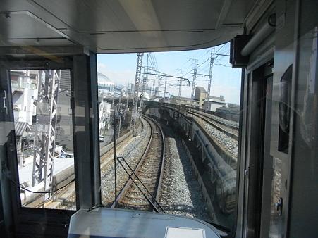 大阪環状線の車窓(弁天町→天王寺)1