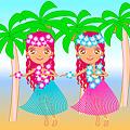 ハワイアンフラ~♪