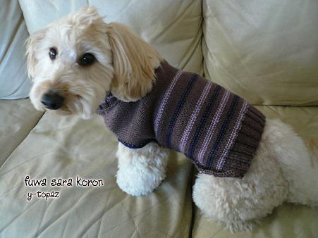くーかいのための手編みセーター 1