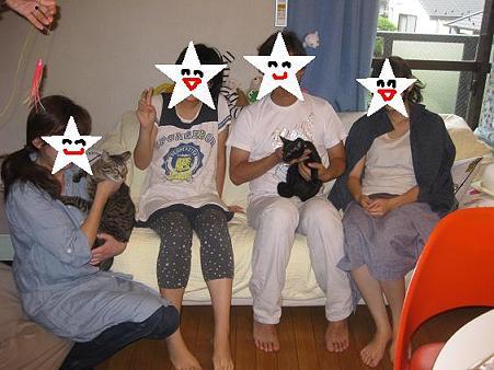 クロリン家族写真