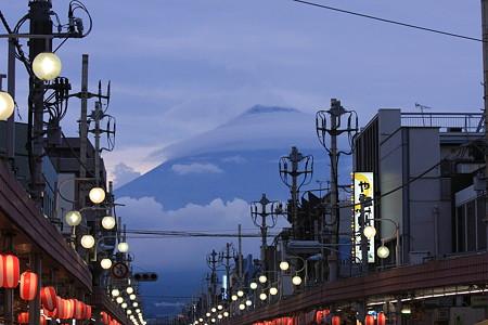 2010.08.08 富士市 商店街の富士