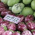 Photos: 2010.08.20 高山 宮川朝市 白茄子