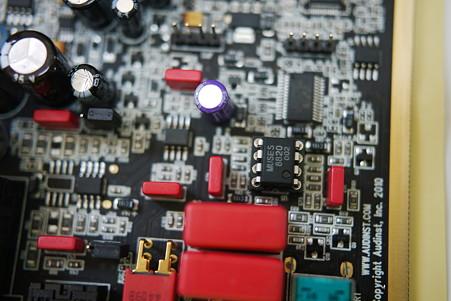 2010.08.28 HUD-mx1 OPAMP交換 MUSES8820D