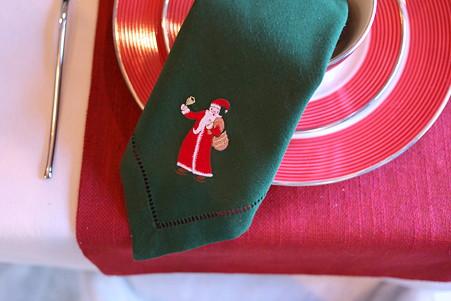 2010.12.08 山手 エリスマン邸 世界のクリスマス2010 スイス テーブルセット
