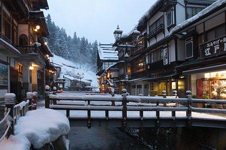 2011.03.09 銀山温泉 雪景
