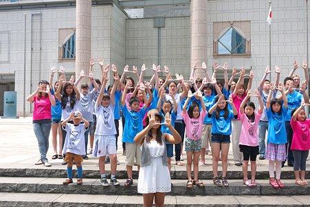2011.06.28 みなとみらい 横浜美術館 横浜インターナショナルスクール 大震災支援撮影