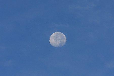 2011.09.16 和泉川 The moon