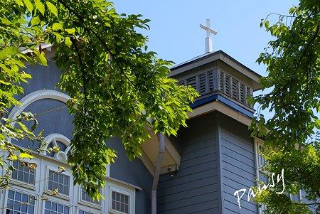 街角の教会・・米沢さんぽ~2 上杉の城下町へ・・