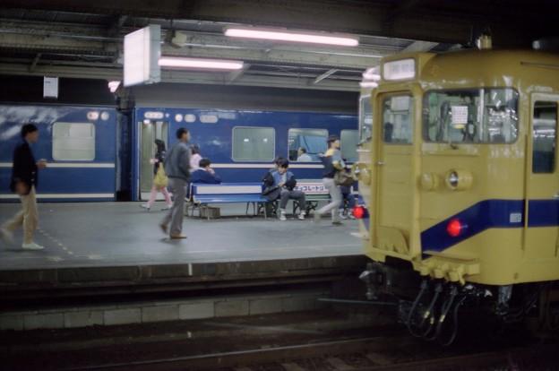 BY21s-急行だいせんと福知山線普通電車
