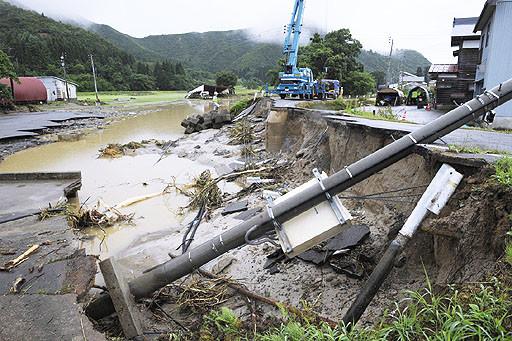 写真: 新潟福島豪雨