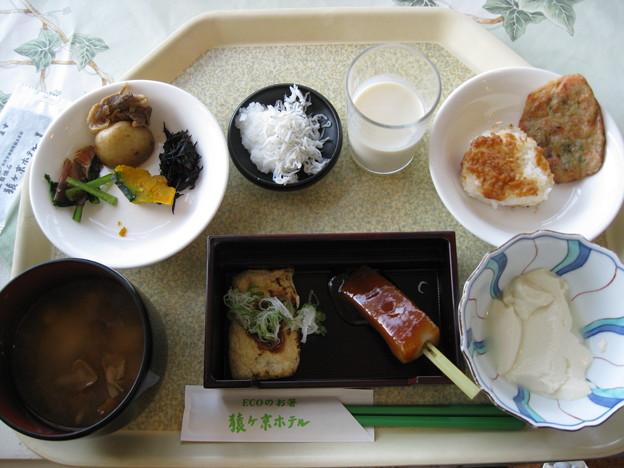 猿ヶ京ホテル豆腐屋さんのバイキング