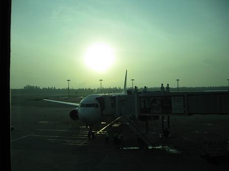 2011元旦 私が乗った JL712便 in Changi