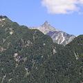 Photos: 100721-65蝶ヶ岳登山・槍見台からの槍ヶ岳