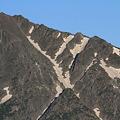 写真: 100722-24蝶ヶ岳登山・穂高連峰と槍ヶ岳(12/30)