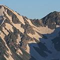 写真: 100722-41蝶ヶ岳登山・穂高連峰と槍ヶ岳(29/30)