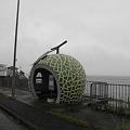 写真: 100519-4九州ロングツーリング・メロンのバス停