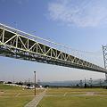 Photos: 110514-18道の駅あわじからの明石海峡大橋