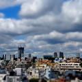 Photos: 描き割りのような空