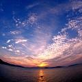 Photos: 雲の多い夕空