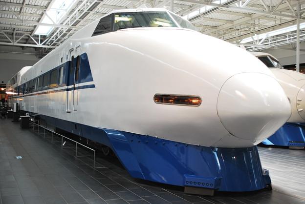 展示車両 100系123型