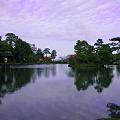 写真: 霞ヶ池 トワイライト