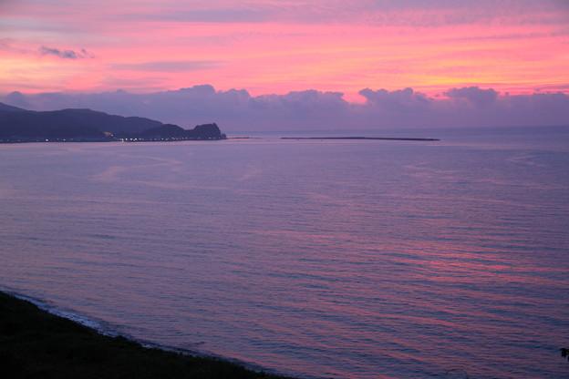 輪島の海 夕焼け (3)