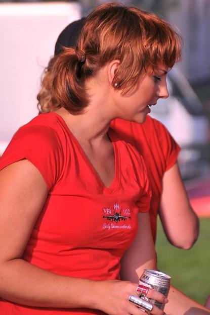Photos: 基地の美女。。20110703厚木基地開放