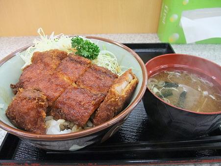 ソースカツ丼(中央道【下り】・小黒川PA)