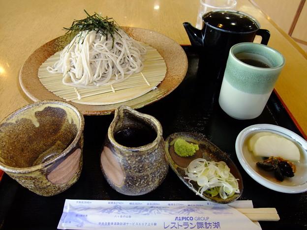 Photos: ざるそば(中央道【上り】・諏訪湖SA)