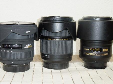レンズ3本購入しました
