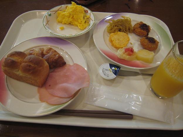 層雲峡温泉 朝陽リゾートホテルの朝食バイキング