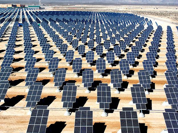 15 megawatts of solar power at NAFB, NV
