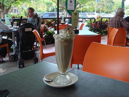 Coast Roast Coffeeにて、アイスコーヒーのつもりで頼んだら…