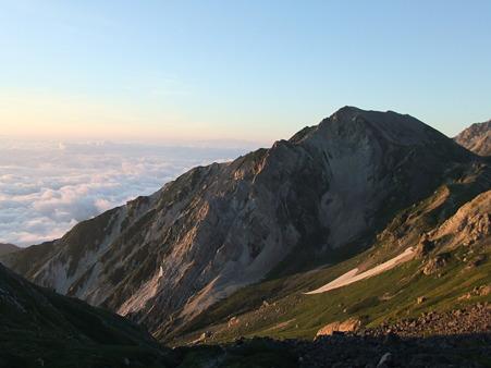 杓子岳方面