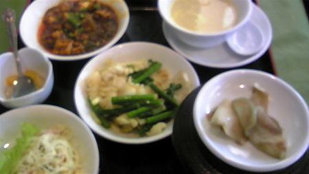 中華料理なう