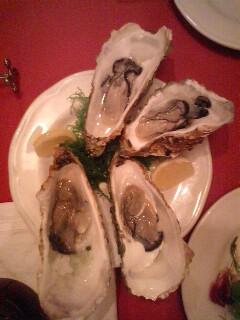 牡蠣の季節だぉ\(^ρ^)/