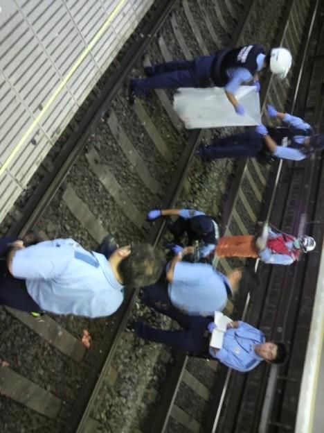昨晩の京急能見台駅での人身... - 写真共有サイト「フォト蔵」